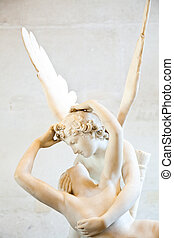 Psyche revived by Cupid kiss - Antonio Canovas statue Psyche...