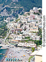 Minori - Costiera Amalfitana - italy - Panoramic view of...