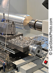 athe, CNC milling