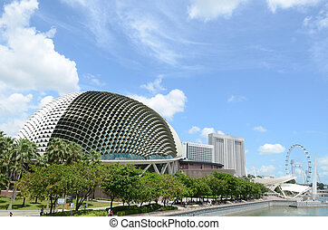 The Esplanade, Theatres On The Bay is one of the arts center...