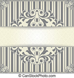 Vintage background - The vector image Vintage background