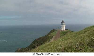 View to Cape Reinga Lighthouse - Cape Reinga, New Zealand....