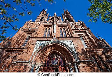 Roman-Catholic church in Samara, Russia