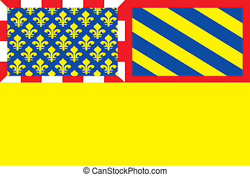Cotedor dep flag - Various vector flags, state symbols,...