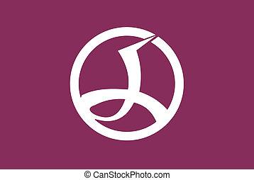 Chiyoda ku flag - Various vector flags, state symbols,...