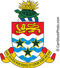 Cayman islands coa - Various vector flags, state symbols,...
