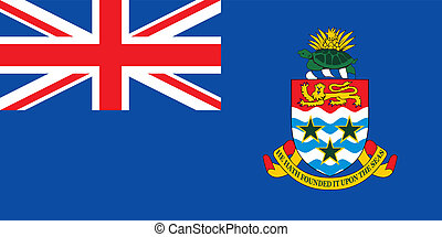 Cayman islands flag - Various vector flags, state symbols,...