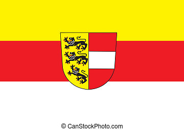 Carinthia flag - Various vector flags, state symbols,...