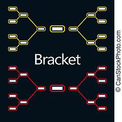 Bracket Tournament playoff assembled