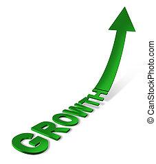 croissance, icône