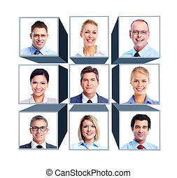 Business people group - Group of business people Business...