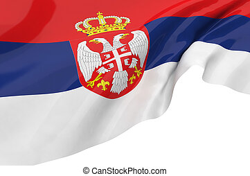 Vector Flags of Serbia