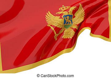 Vector Flags of Montenegro