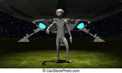 Alien - alien and UFO