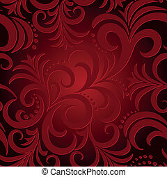 abstract red background - red seamless background with...