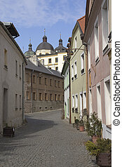 The historical center of Olomouc (Czech Republic)