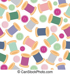 seamless pattern wwith reels
