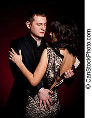 photo of man and woman - Fashion beautiful photo of man and...