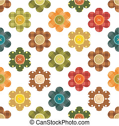 patchwork background with flowers - patchwork background...