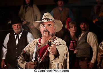 cano, caçador,  1800's