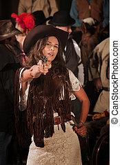 Latina Gunslinger