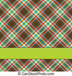 Fabric texture background with room for your text
