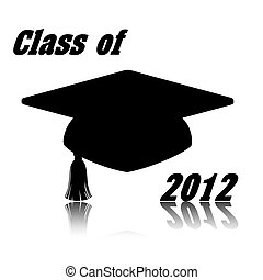 Class of 2012 illustration - 2012 illustration of class cap...