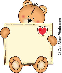 Bear Secure Envelope - Image representing a bear secure...