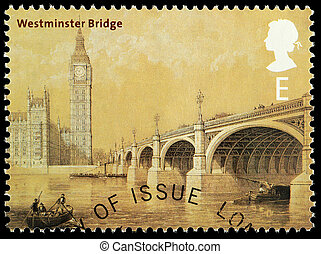 Bridges of London Postage Stamp