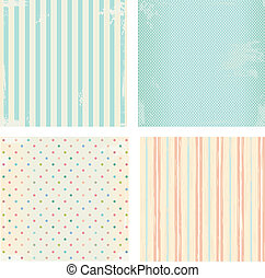 Set of vector backgrounds - Collection of vector backgrounds...