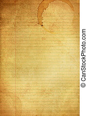 Vintage Blue and Red Lined grunge paper