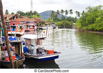 Fishermans village - Thailand fishermans village on Koh...