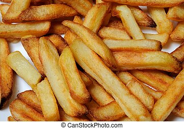 French fries. - Chips (French fries), Calypso, Costa del...