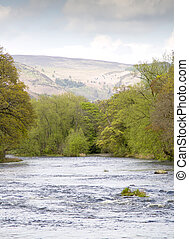 River Dee at Llangollen North Wales
