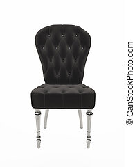Soft baroque chair. upholstered furniture