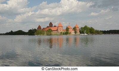 Trakai medieval kings castle