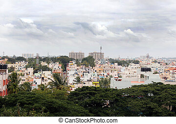 Bangalore city southern area - a concrete jungle - Bangalore...