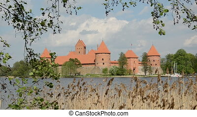 Lithuanian kings castle Trakai - Lithuanian historical...