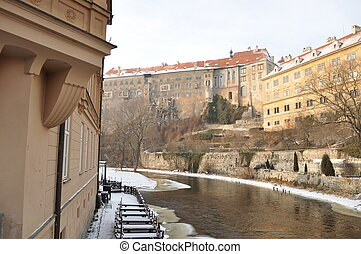 The historic city of Cesky Krumlov - The historic city of...