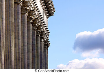 Classical Colonnade - Classical greco-roman colonnades...