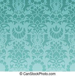Baroque wallpaper