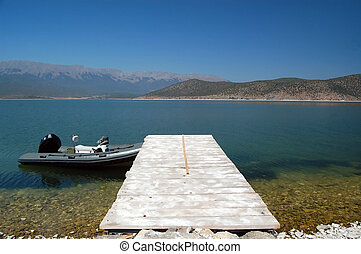 lake prespa macedonia