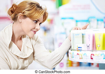 Choose - The buyer at the pharmacy