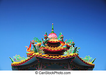 Chinese roof style