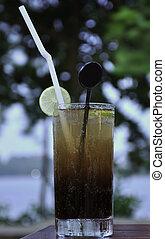 Long Island Iced Tea - A Glass of Long Island Iced Tea...