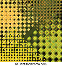 Background texture with dots - Vector illustration of a...