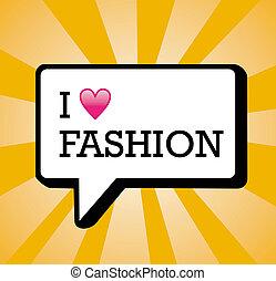 I love fashion background illustration
