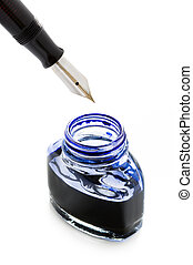 filling a fountain pen