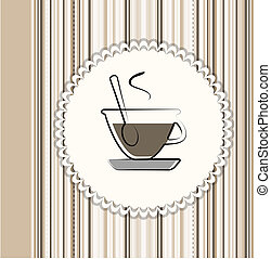 Coffee menu card