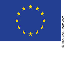 European Union Flag EU - Flag of the European Union EU